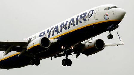 Ryanair has seen its profits rise. Picture: Rui Vieira/PA Wire