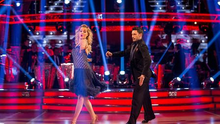It's game over for Giovanni Pernice and Laura Whitmore (Picture: BBC/Guy Levy)