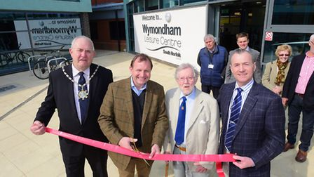 Wymondham Leisure Centre reopened after a refurbishment in April. South Norfolk Council leader John