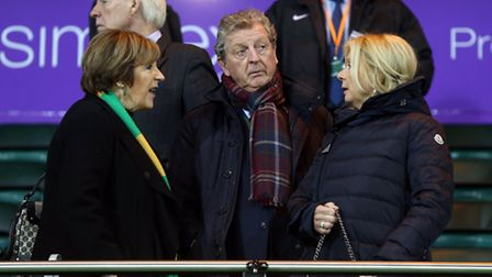 Former England boss Roy Hodgson was at Carrow Road on Saturday. Picture by Paul Chesterton/Focus Ima