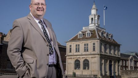 Brian Long, leader of the Borough Council of King's Lynn and West Norfolk. Picture: Matthew Usher.