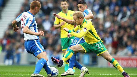 Alex Pritchard was the target of the Brighton boo boys after snubbing their summer advances. Picture