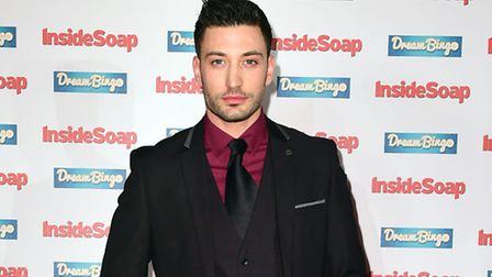 Giovanni Pernice attending the Inside Soap Awards 2016. Picture Ian West/PA Wire