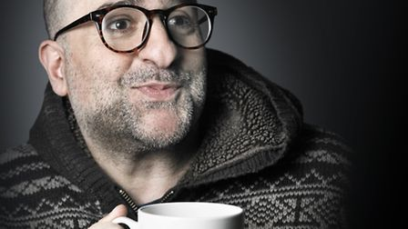 Omid Dijalili will be bringing his new tour, Schmuck for a Night to Norfolk next April. Photo: Andy