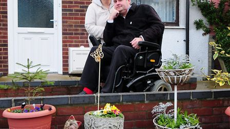 Keith and Glenys Bright from Gorleston say their lives are limited by a lack of proper toilet facili