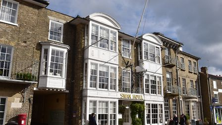 The Swan Hotel in Southwold. Picture: NICK BUTCHER