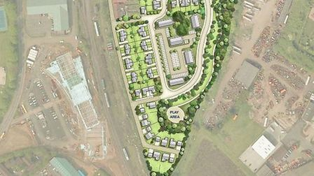 Plans for 127 homes at former maltings in Dereham