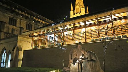 Norwich Cathedral is holding an open evening on Thursday, December 1 2016. Photo: Paul Hurst.