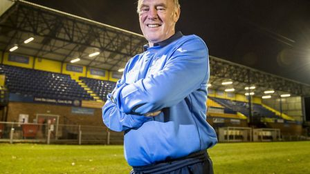 King's Lynn Town have announced Ray Hall has joined their staff at The Walks. Picture: Matthew Usher