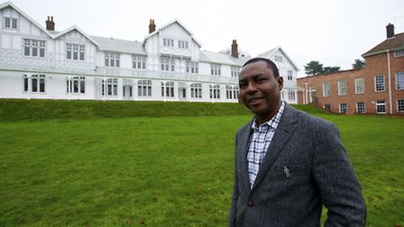 Elijah Adeyemi chief executive of Mundesley Hospital, which has been placed in special measures .Pi