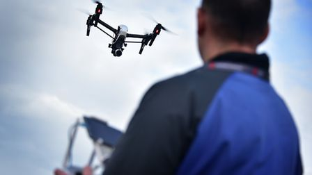 Crop scientists will be trained by The Aerial Academy to use drones to monitor their field trials. T