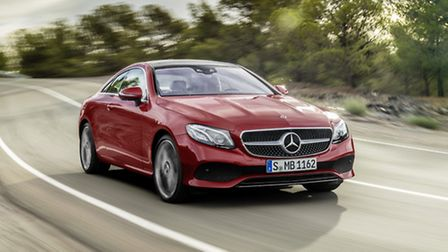 New Mercedes-Benz E-Class Coupe can now be ordered, priced from £40,135.