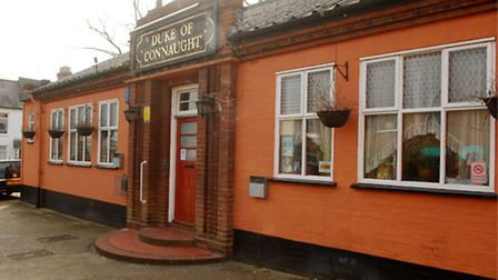 The Duke of Connaught pub on Livingstone street. Publican Paul Waller is looking to gain planning p