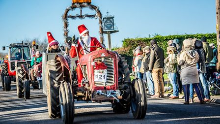 Various shots from the wonderful tractor rally this morning