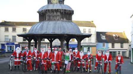 The Trunch Fatboy Cycle Club held its annual charity cycle on Sunday to raise money for Cromer-based