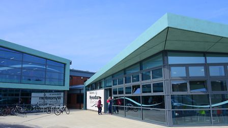 The newly refurbished Wymondham Leisure Centre which has been officially reopened.PHOTO BY SIMON FIN
