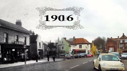 The Time Travel Artist has captured Holt's transformation through the years. Picture: YOUTUBE/JAMES