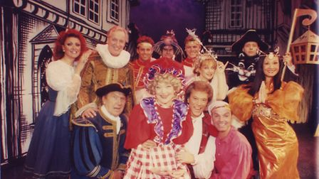 The cast of Dick Whittington and his cat at the Theatre Royal Norwich. Photo: Archant Library