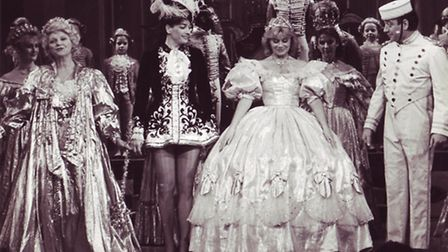 Cinderella at the Theatre Royal on 17th December 1986. Photo: Archant Library