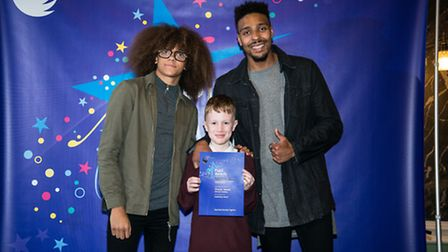 Academy Transformation Trust's Pupil Awards 2016. Charlie Jeanes, from Admirals Academy in Thetford,