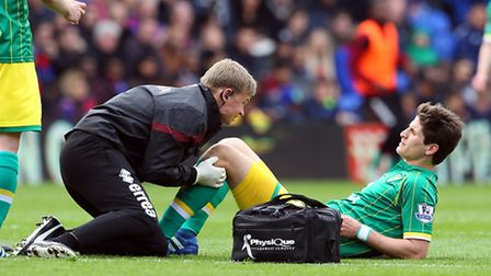 Timm Klose's knee ligament injury was one of the low points in a 12 months to forget for Norwich Cit