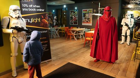 The launch of Rogue One: A Star Wars Story at The Light Cinema in Thetford. Pictures by Oliver Thomp