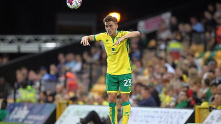 Norwich City loanee Harry Toffolo made his first Scunthorpe start in two months at the weekend. Pict