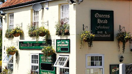 The Queens Head, High Road, Burgh Castle. Picture: James Bass