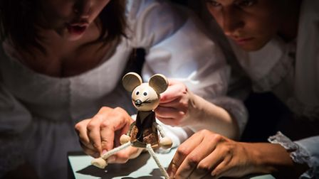 The Nutcracker mixes live action and puppets. Picture: Story Pocket Theatre