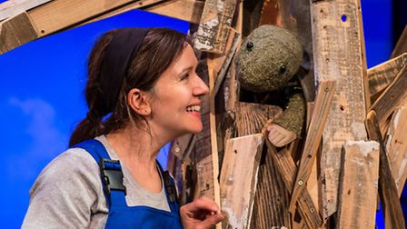 Gomito Theatre's Chester Tuffnut is coming to Norwich Puppet Theatre. Photo: LinaandTom.com