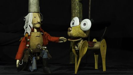 Norwich Puppet Theatre's The Tinderbox is part of the venue's new season of shows. Photo: Andi Sapey