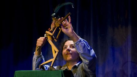 Norwich Puppet Theatre's The Pied Piper is part of the venue's new season of shows. Photo: Andi Sape