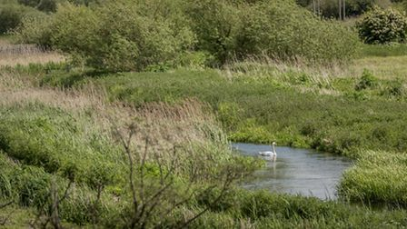 A new viewing platform is being put in place at Sculthorpe Moor Nature Reserve. Picture: Matthew Ush
