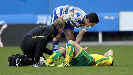 Graham Dorrans faces a spell out with medial knee ligament damage. Picture by Paul Chesterton/Focus