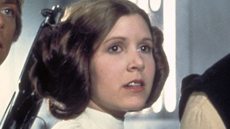 Carrie Fisher as Princess Leia in Star Wars: Episode IV, A New Hope. Pic: Lucasfilm Ltd.