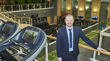 Shaun Cable, general manager at the Bannatyne Health Club Norwich West. Picture by Jamie Garbutt, su