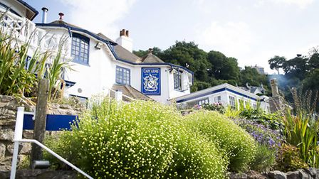 The Cary Arms, Babbacombe Bay, Devon.