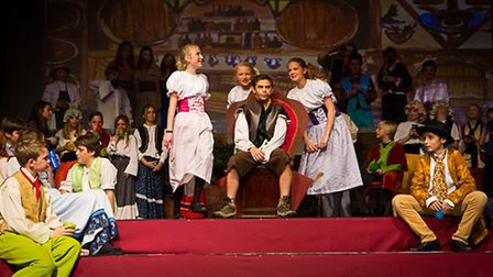 Beeston Hall School performs Beauty and the Beast Junior. Picture: DEBBY BESFORD