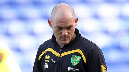 Norwich City manager Alex Neil before the team's latest defeat at Reading. Picture: Paul Chesterton/
