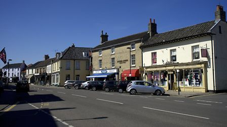 A new car park could help ease congestion in Holt town centre Picture: MARK BULLIMORE