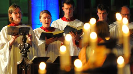 Carols at Christmas concert in St Peter Mancroft Church, Norwich. Picture: Steve Adams