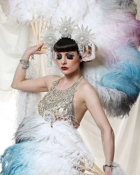 Showgirl Talulah Blue will be performing at Norwich Arts Centre's New Year's Eve event, The Guilty P