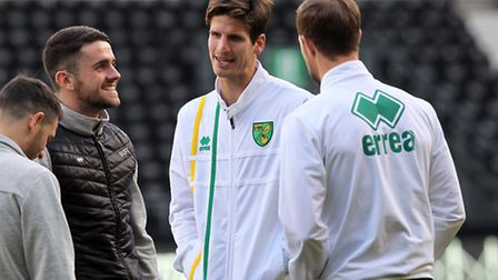 Timm Klose has been left out at Norwich City in recent weeks. Picture by Paul Chesterton/Focus Image