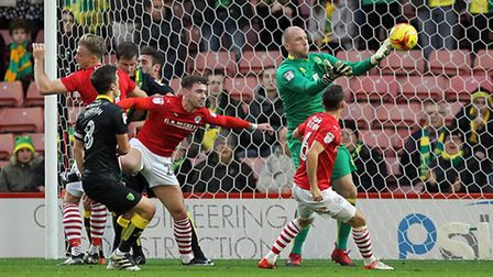 John Ruddy has twice won promotion from the Championship with Norwich City. Picture by Paul Chestert