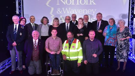 Stars of Norfolk and Waveney awards 2016 at Sprowston manor.PHOTO: Nick Butcher
