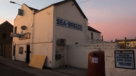 The Sea-Breeze Club on Commercial road, Lowestoft.PHOTO: Nick Butcher