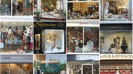 Christmas Window 2016. Photos by Emily Revell