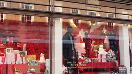 Marks and Spencer Christmas Window 2016. Photo by Emily Revell