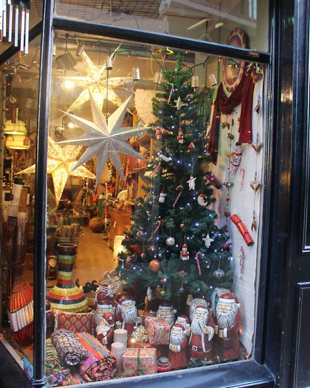 Natural East Christmas Window 2016. Photo by Emily Revell