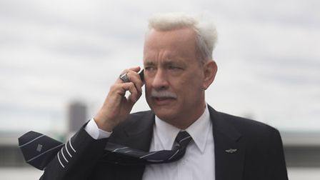 Tom Hanks as Capt Chesley Sullenberger in Sully - Miracle On The Hudson. Picture: Warner Bros.